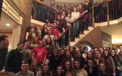 Irish Students Visit Knolls
