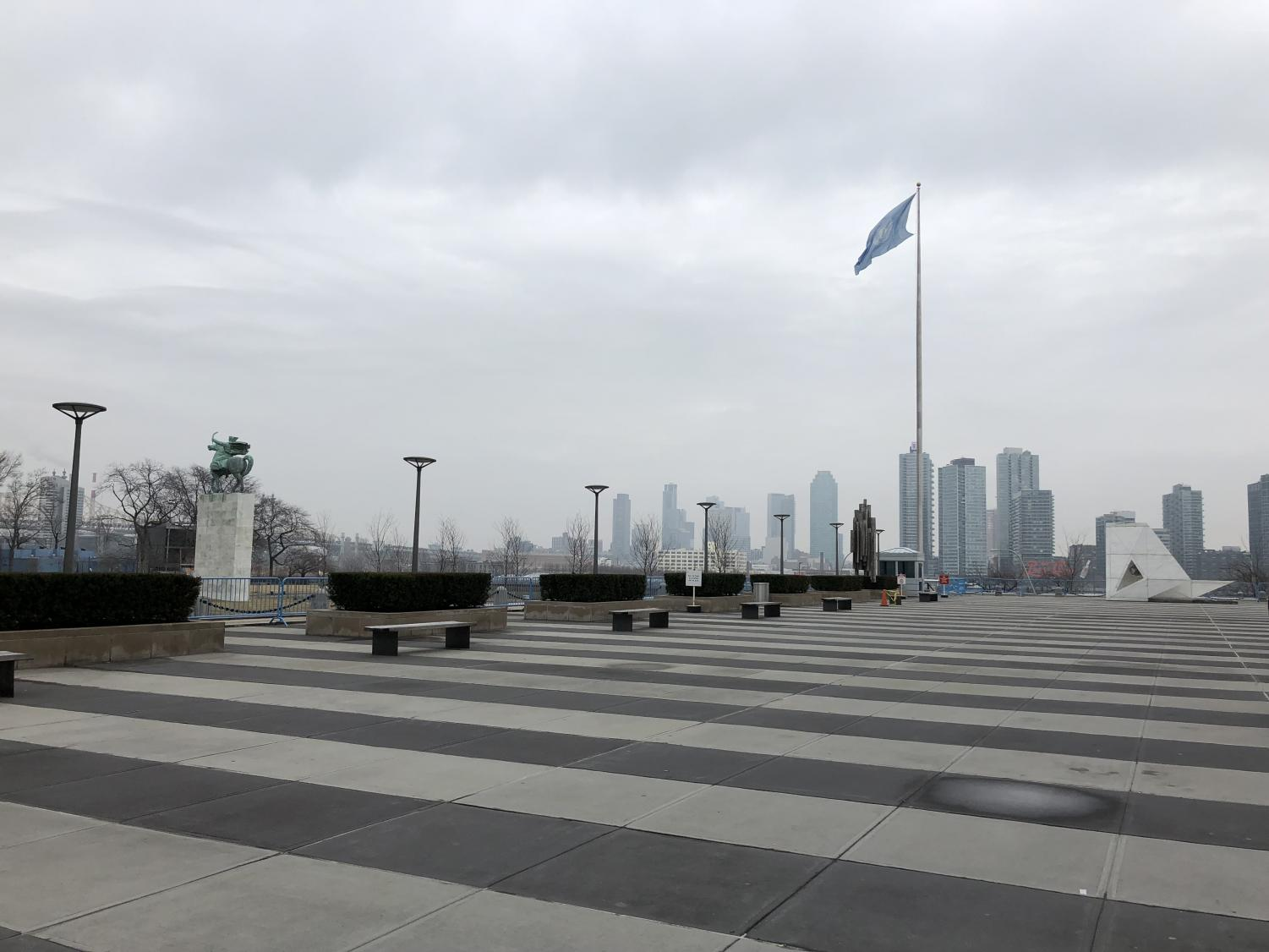 View from UN HQ
